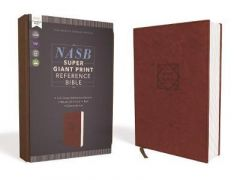 NASB Super Giant Ref. Bible