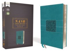 NASB 2020 Thinline Bible, Leathersoft, Teal