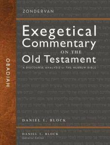 Zondervan Exegetical Commentary OT-Obadiah