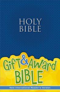 NIrV Gift And Award Bible-Blue