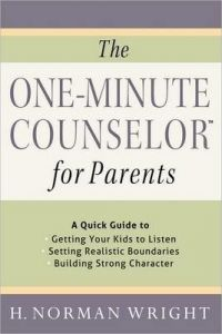 One-Minute Counselor For Parents