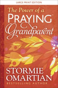 Power Of A Praying Grandparent-Large Print Edition