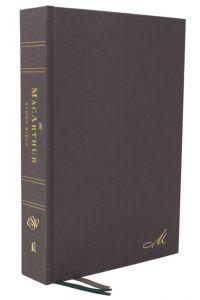 ESV MacArthur Study Bible-Hardcover, 2nd Edition