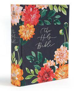 CSB Notetaking Bible, Hosanna Revival Edition, Dahlias