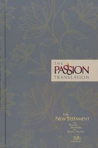 Passion Translation New Testament (2020 Edition)-Hardcover, Floral
