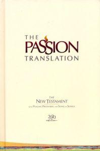 Passion Translation New Testament (2020 Edition)-Hardcover, Ivory