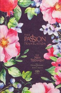 Passion Translation New Testament (2020 Edition)-Hardcover, Berry Blossom