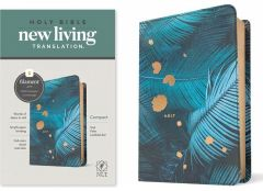 NLT Compact Bible LeatherLike-Teal Palm, Filament Enabled Edition