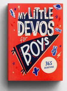 My Little Devos for Boys - 365 Devotions for Kids, J4646