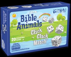 Bible Animals Click Clack Match Box Game
