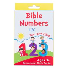Bible Numbers Boxed Cards for Kids, #BX123
