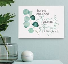 Framed/Canvas: But The Lord Stood With Me, CVS0233