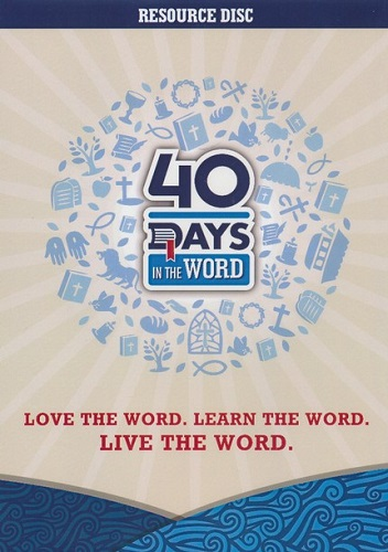40 Days In The Word Resource Disc (DVD) *
