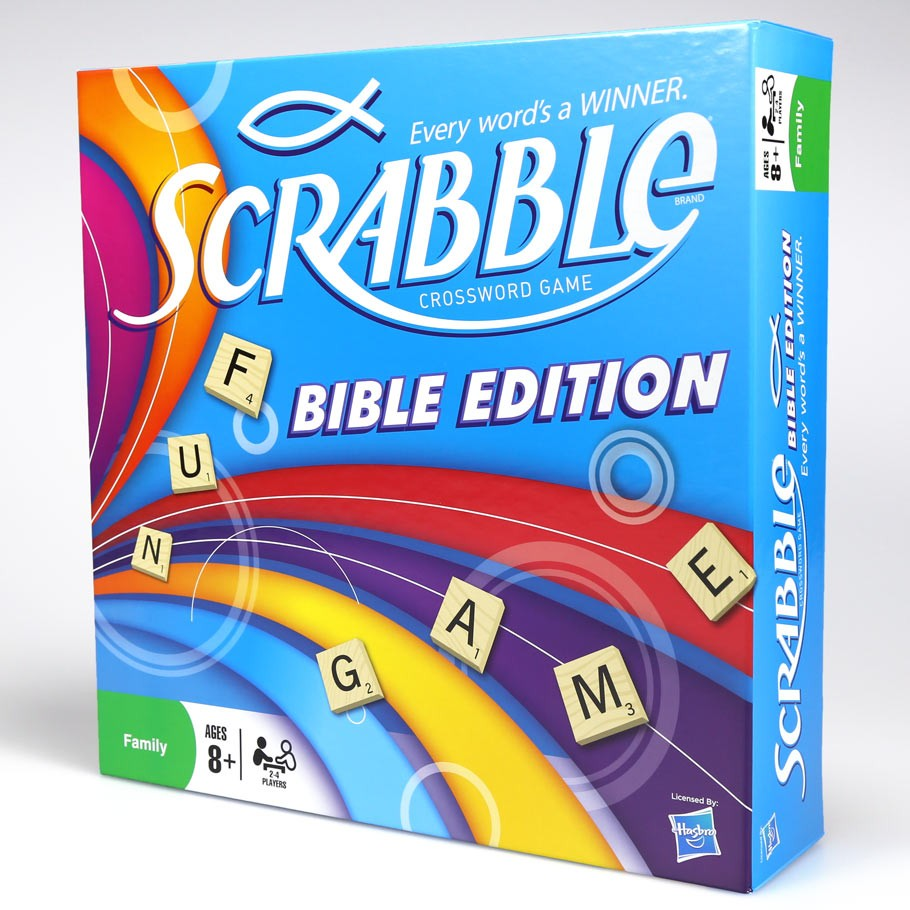 Scrabble: Bible Edn.Board Game (CGD720)