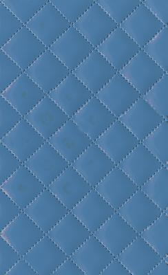 NIV Quilted Collection Bible (Leatherlook-BlueBerry)