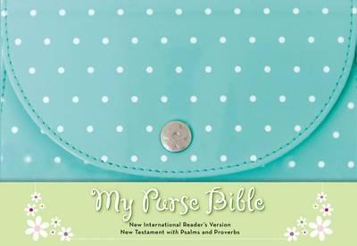 NIrV My Purse Bible Imitation Ltr-Blue