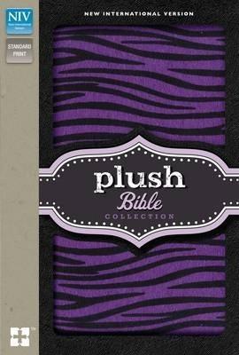 NIV Plush Bible (Thinline-Purple Zebra)