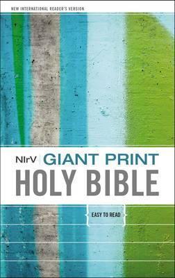 NirV Giant Print Holy Bible - Hardcover