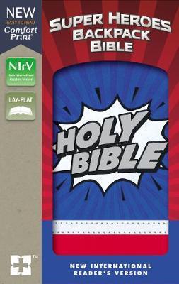 NIrV, Super Heroes Backpack Bible