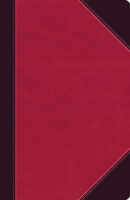NKJV UltraSlim Ref. Bible (Raspberry/Plum, Indexed)