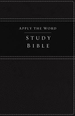 NKJV Apply the Word Study Bible (Imitation Leather, Black, Red Letter Edition)