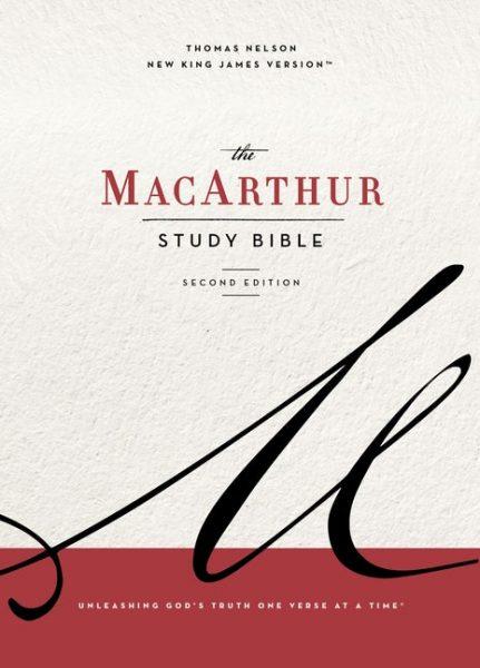 NKJV MacArthur Study Bible, The, 2nd Edition, Cloth, Blue, Comfort Print