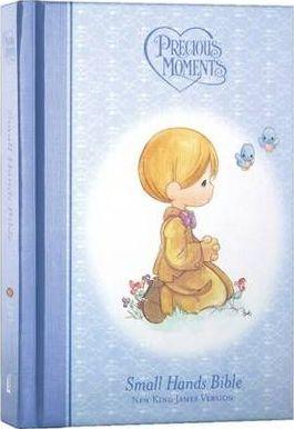 NKJV Precious Moments Bible (Blue)
