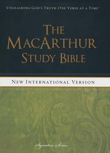 NIV MacArthur Study Bible - Hardcopy