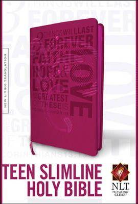 NLT Teen Slimline Bible 1 Cor 13