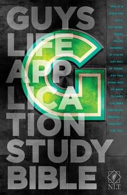 NLT Guys Life Application Study Bible (Hardcover)