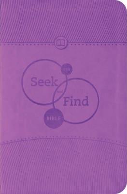 ESV Seek And Find Bible, TruTone, Lavender