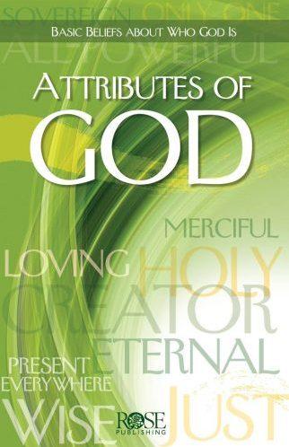Attributes Of God - Pamphlet