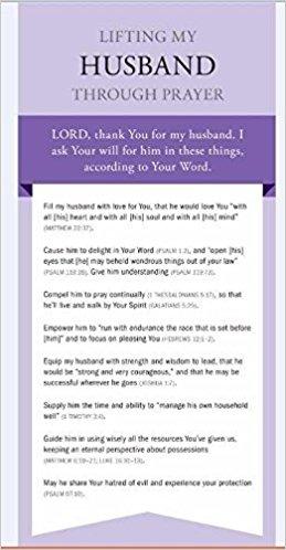 Prayer Card - Lifting My Husband Through Prayer Card