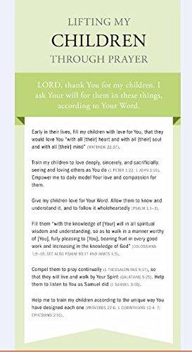 Prayer Card - Lifting My Children Through Prayer Card #CRD18097