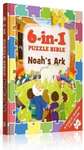 6-in-1 Puzzle Bibles-Noah's Ark