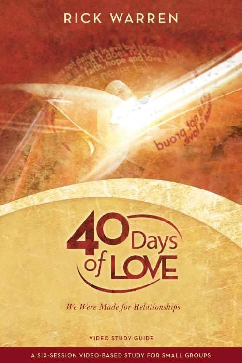 40 Days Of Love (Video Based Study DVD)