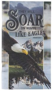 Planner 2022 (24 Month, Small)-Soar On Wings Like Eagles, DP384