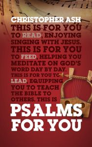 God's Word for You Series: Psalms For You