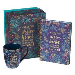 Journal and Mug SET-Desire of Your Heart, GS335