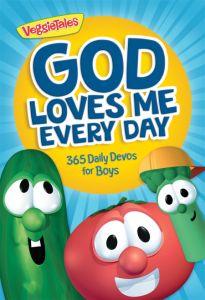 God Loves Me Every Day: 365 Daily Devos for Boys