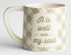 Mug Ceramic-It Is Well With My Soul, J3863