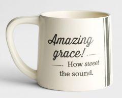 Mug Ceramic-Amazing Grace! How Sweet The Sound, J3871