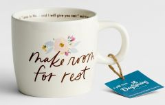 Mug Ceramic-Make Room For Rest, J4675