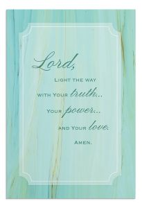 Boxed Cards-Praying for You Jesus Is The Light, J5124