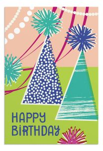 Boxed Cards-Birthday Oh Happy Day Art Icons, J5126