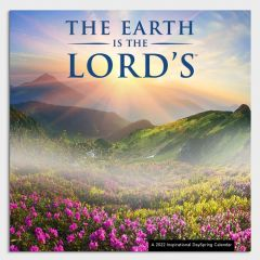 Calendar 2022-The Earth Is The Lord's, J5303