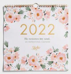 Calendar 2022-Premium Spiral - Studio 71: He Restores My Soul, J5591