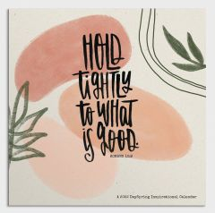 Calendar 2022-Katygirl - Hold Tightly to What is Good, J5595