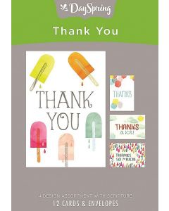 Boxed Cards-Thank You Fun (70099)