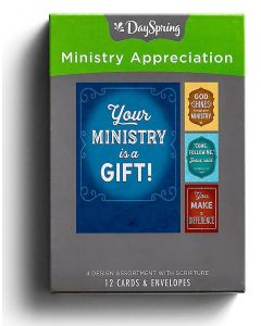 Boxed Cards-Ministry Appreciation, J3357